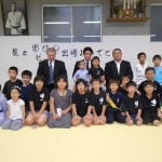 羽賀龍之介選手 オリンピック出場壮行会