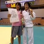 試合結果報告(第47回全国中学校柔道大会 女子個人)